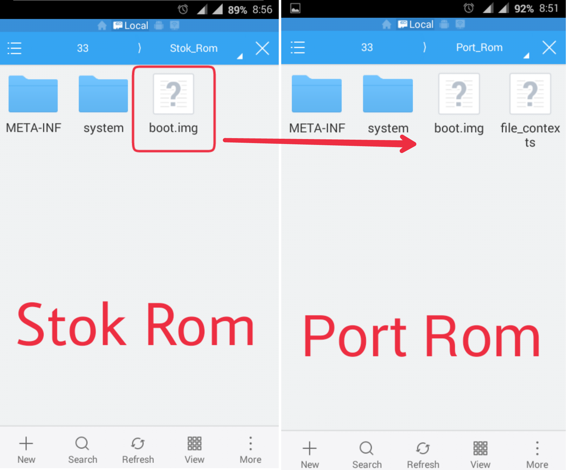 rom porting Before porting android to your hardware,  knowing its structure can help you navigate the many layers of code in the android open source project (aosp).