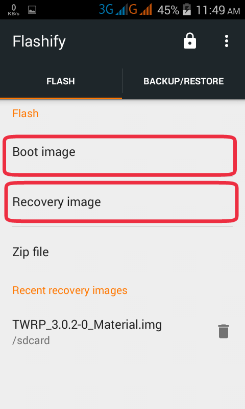 Guide] How To Flash or Install Custom Recovery & Kernel or